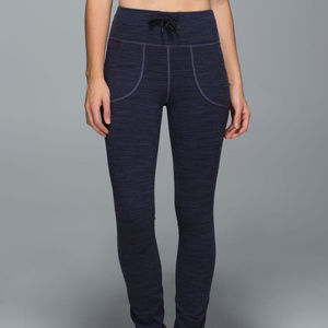 LULULEMON Skinny Will Pants Diamond Jacquard